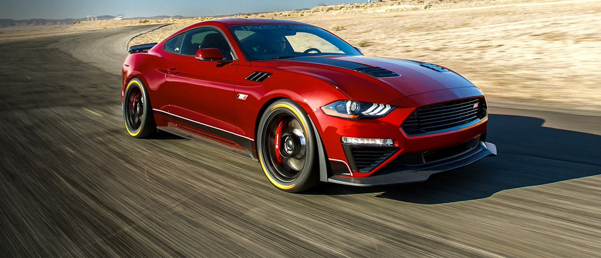 Red 2020 JACK ROUSH EDITION MUSTANG