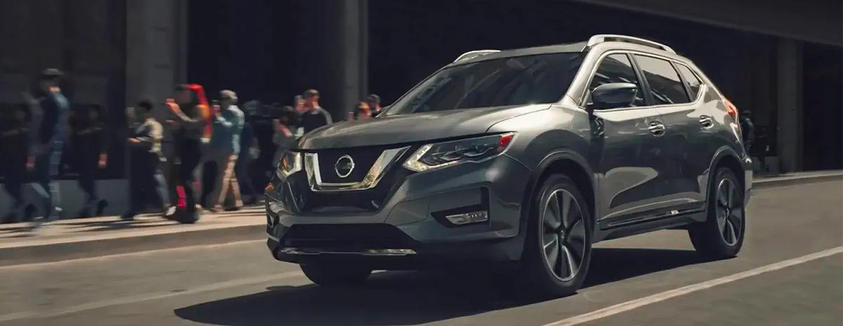 2020 Nissan Rogue on street
