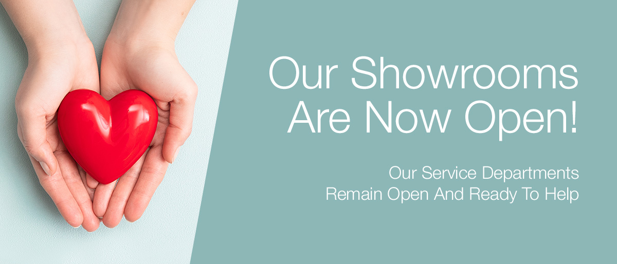 Our Service Departments Are OPEN!