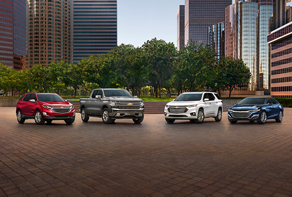Chevrolet Vehicle Lineup