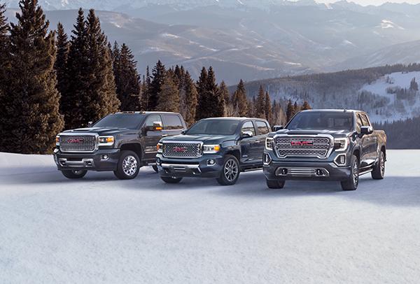 GMC Vehicle Lineup