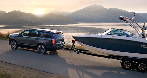 2021 Tahoe towing capabilities
