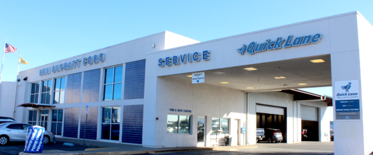 Ford Service & Repairs in Dixon, CA header