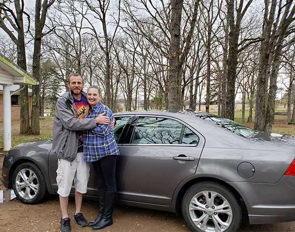 Jordan, Our February #FiveStarFordFreebie Winner And Her FREE Ford Fusion!